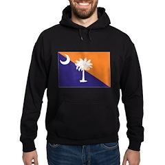 Orange Purple SC Flag Hoodie