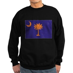 Orange and Purple SC Flag Sweatshirt (dark)