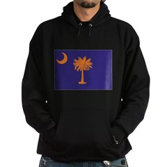 Orange and Purple SC Flag Hoodie (dark)