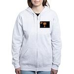 Orange and Black South Caroli Women's Zip Hoodie