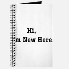 Hi, I'm New Here Journal
