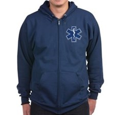EMT Rescue Zipped Hoodie