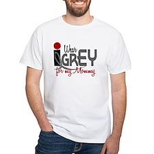 I Wear Grey For My Mommy 32 Shirt