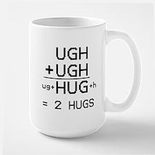 """HUG not UGH"" Mug"