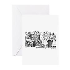 Calavera Gran Fandango Greeting Cards (Pk of 10)