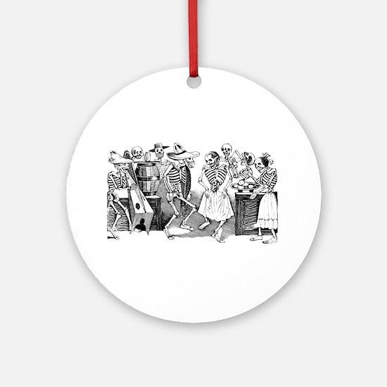 Calavera Gran Fandango Ornament (Round)