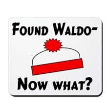 Found Waldo Mousepad
