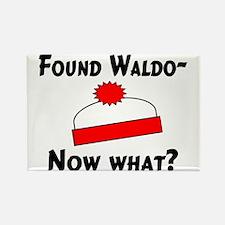 Found Waldo Rectangle Magnet
