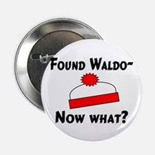 "Found Waldo 2.25"" Button (100 pack)"