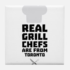 Real Grill Chefs are from Toronto Cq9 Tile Coaster
