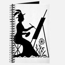 Painting Woman Journal