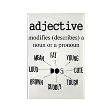 Adjective Rectangle Magnet