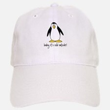 cute penguin Cap