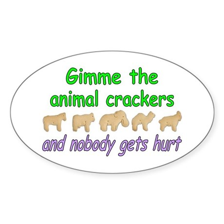 Gimme Oval Sticker