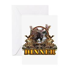 wild game DINNER Greeting Card