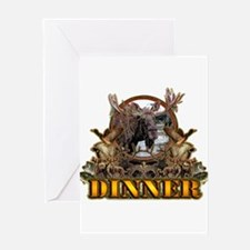 wild game DINNER Greeting Card