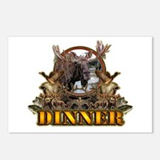 wild game DINNER Postcards (Package of 8)