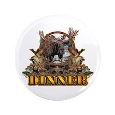 """wild game DINNER 3.5"""" Button"""