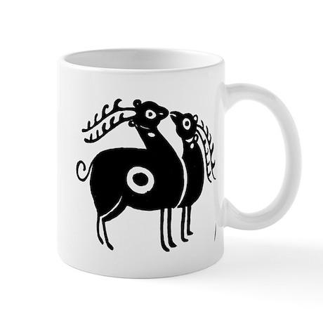 Persian Deer Mug