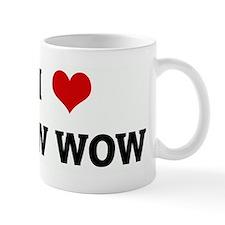I Love BOW WOW Mug