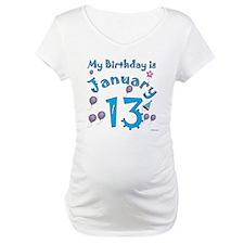 January 13th Birthday Shirt