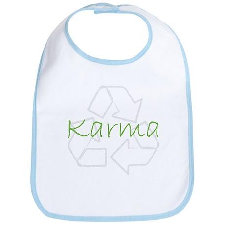 Recycle for Good Karma Bib