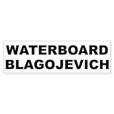 Waterboard Blagojevic Bumper Bumper Sticker