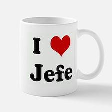 I Love Jefe Small Small Mug