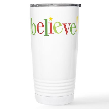 believe! Stainless Steel Travel Mug