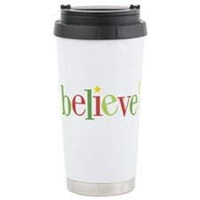 believe! Travel Coffee Mug