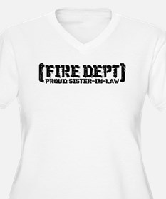 Proud Sister-in-law Fire Dept T-Shirt
