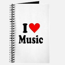 I Love Music: Journal