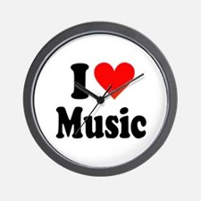 I Love Music: Wall Clock