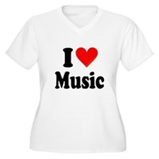 I Love Music: T-Shirt