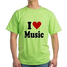I Love Music: T-Shirt