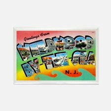 Cute Sea hunt Rectangle Magnet