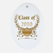 Class of 2010 Oval Ornament