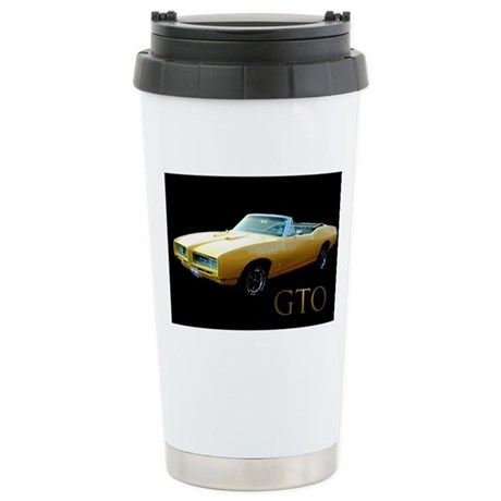 Pontiac GTO Stainless Steel Travel Mug