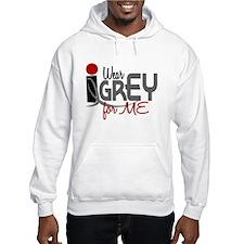 I Wear Grey For ME 32 Jumper Hoody