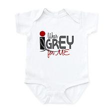 I Wear Grey For ME 32 Infant Bodysuit
