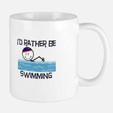 I'd Rather Be Swimming Mug