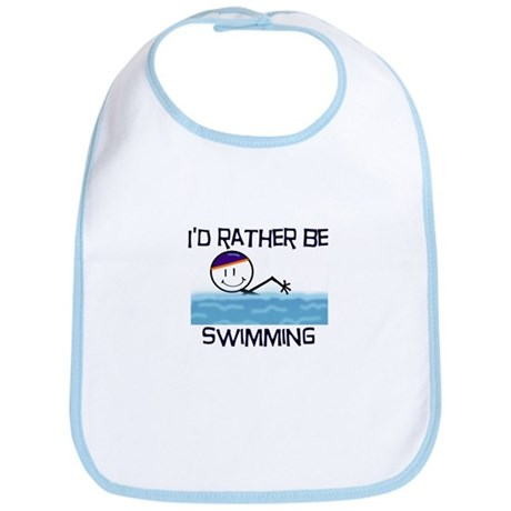 I'd Rather Be Swimming Bib