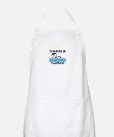 I'd Rather Be Swimming BBQ Apron