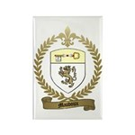 MAUDOUX Family Crest Rectangle Magnet
