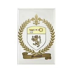 MAUDOUX Family Crest Rectangle Magnet (100 pack)