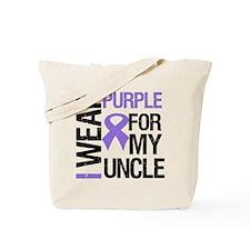 IWearPurple Uncle Tote Bag