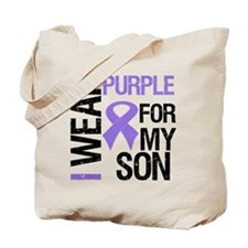 IWearPurple Son Tote Bag