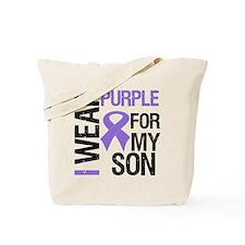 IWearPurple Son Tote Bag