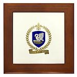 LEJEUNE Family Crest Framed Tile