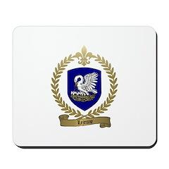 LEJEUNE Family Crest Mousepad